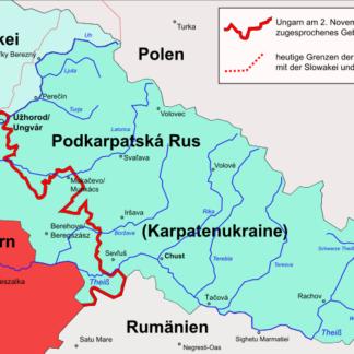 05) Region Podkarpatská Rus / Karpatenrussland