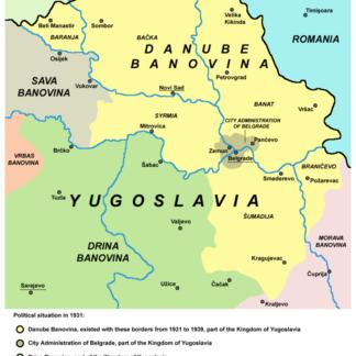 07) Dunavska Banovina (Banschaft Donau)