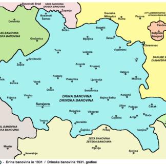 05) Drinska Banovina (Banschaft Drina)