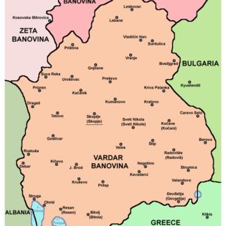09) Vardarska Banovina (Banschaft Vardar)