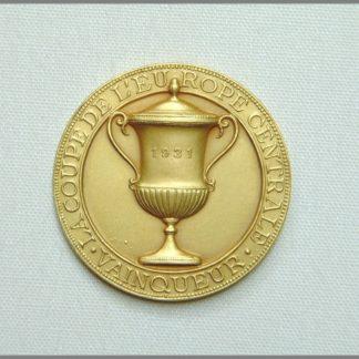 La Coupe de l´Europe Centrale - Vainqueur 1931