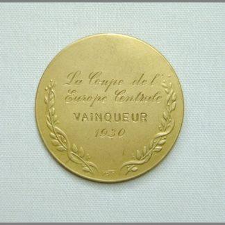 La Coupe de l´Europe Centrale - Vainqueur 1930